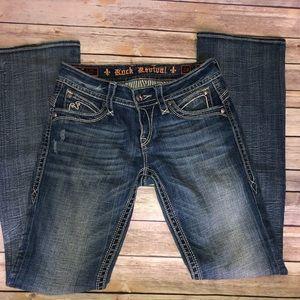 "Rock Revival ""Heather"" Bootcut Jeans SZ: 29"